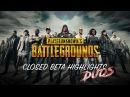PLAYERUNKNOWN'S BATTLEGROUNDS Closed Beta Highlights Vol 2