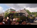 Крым,Симферополь парад 9 мая 2017 года