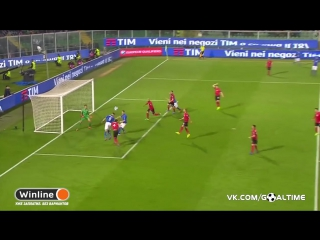 Италия - Албания 2:0. Чиро Иммобиле