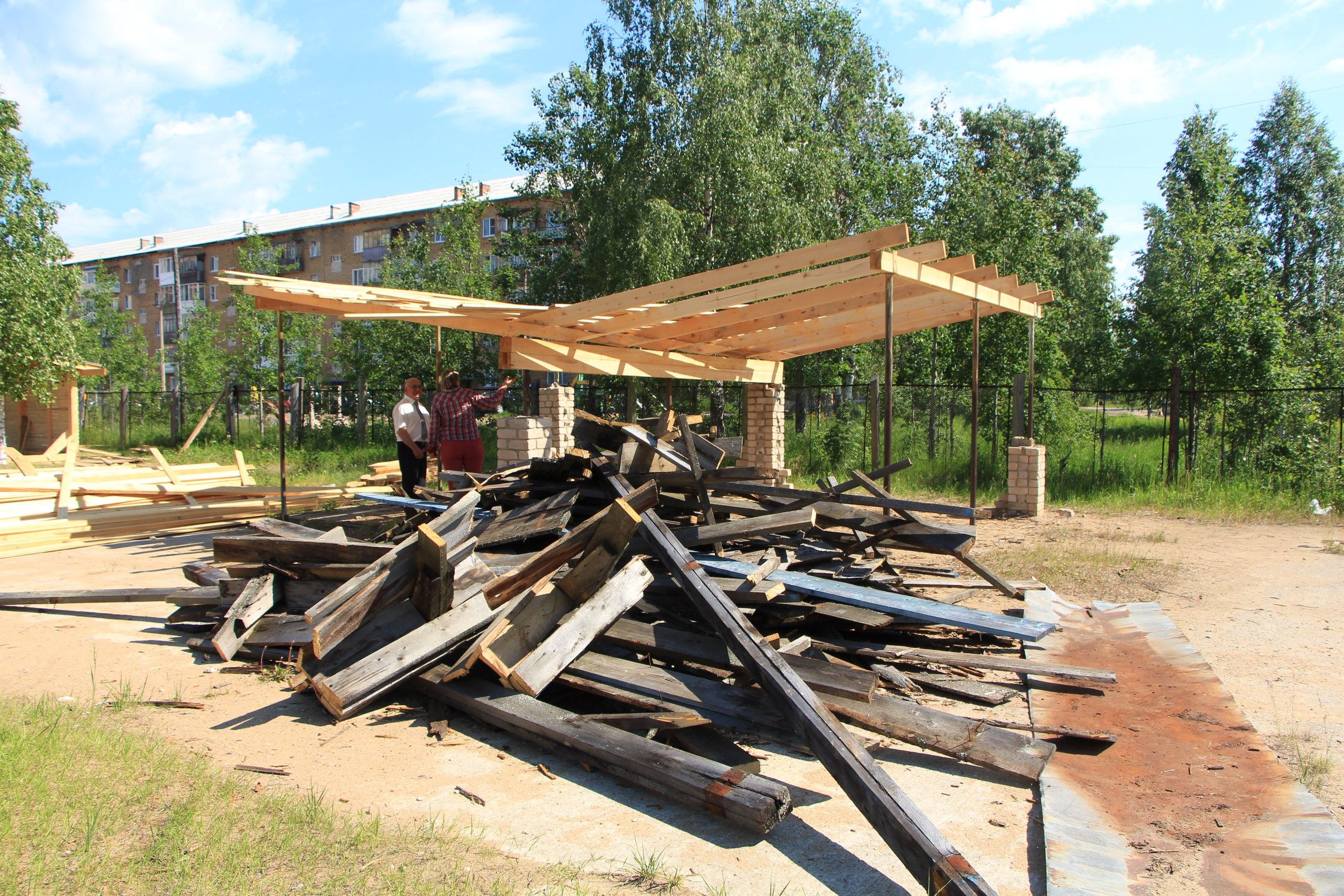 Благоустройство территории детского сада «Аленка»