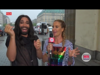 Conchita Wurst interview - CSD Berlin, 22-07-2017