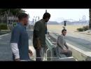 Прохождение Grand Theft Auto V GTA 5 — Часть 1_ Ограбление в Людендорфе _ Фран