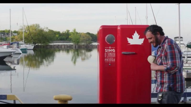 The Beer Fridge - O Canada _ Behind the Scenes _ Molson Canadian