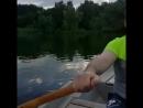 Гребец на реке Десна
