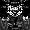 25 лет RAJFAJH (Black Metal fest)