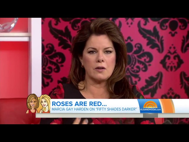 Fifty Shades Darker - Hoda Kotb and Kathie Lee Gifford interview Marcia Gay Harden on Today Show