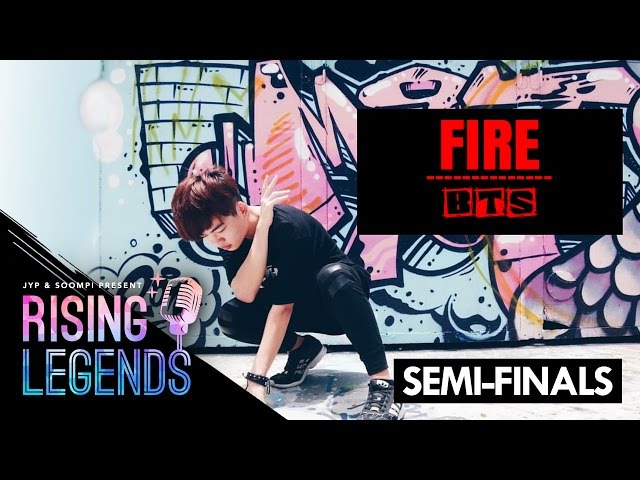 BTS(방탄소년단) _ FIRE (불타오르네) - JYP x Soompi Rising Legends Semi-Finals