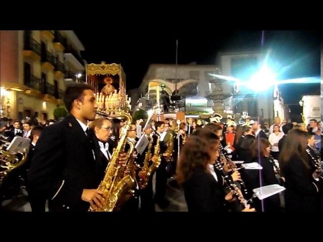 Banda municipal de musica, Los Moraos Jueves Santo ALHAURIN de la TORRE 2017, 13/04