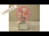 DIY DOLLAR TREE, WEDDING, MOTHER'S DAY, EASTER MIRROR ROSE BOX DECOR