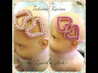 Vídeo 1: Aprenda a fazer tiara com detalhe vazado (Coração)! Tatiana Karina by Laurika Artes