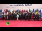 Путин принял участие в церемонии фотографирования глав стран G20