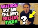 SAFFRON GOT ME THE BEST PRESENT EVER!!