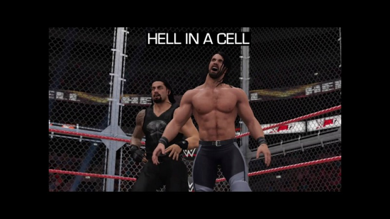 WWE 2K17 Universe Mode Highlights - Hell In A Cell (RAW PPV)