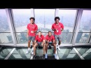 Is Lacazette scared of heights?   Arsenal Tour 2017