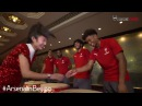 Can they keep up? | Arsenal stars versus Chinese Drums