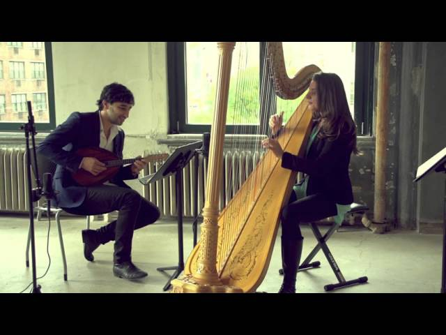 Mandolinist Avi Avital Harpist Bridget Kibbey Re-Imagine Bach