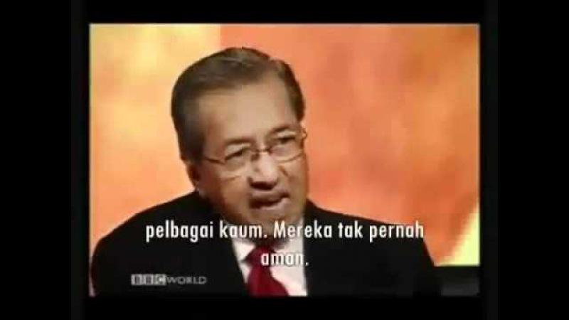 Debat Tun Dr Mahathir VS Yahudi