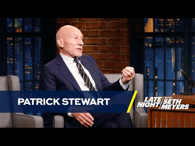 Patrick Stewart Has Beef with James McAvoys Professor X
