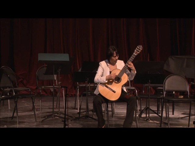 Nikita Koshkin 'Prelude and Fugue in e minor' Asya Selyutina guitar