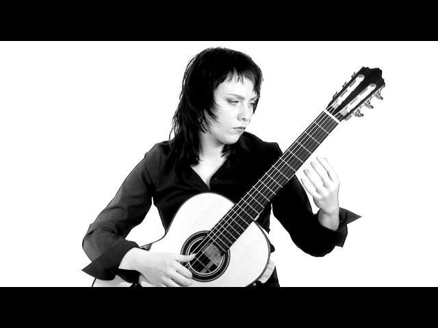 Nikita Koshkin 'Prelude and Fugue in f sharp minor' Asya Selyutina guitar