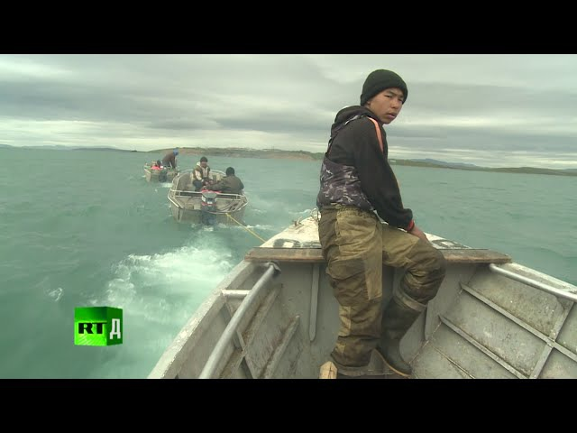 I am Hunter traditional whaling in Russias Chukotka Peninsula.