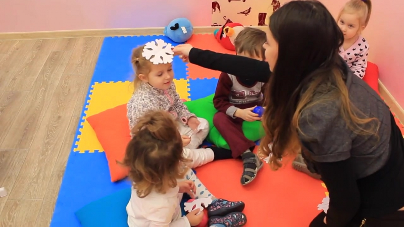 Занятие английским для детей 3-4 года группа First Steps -1.English lesson for kids 3-4 years