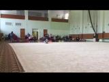 художественная гимнастика юхно Ульяна