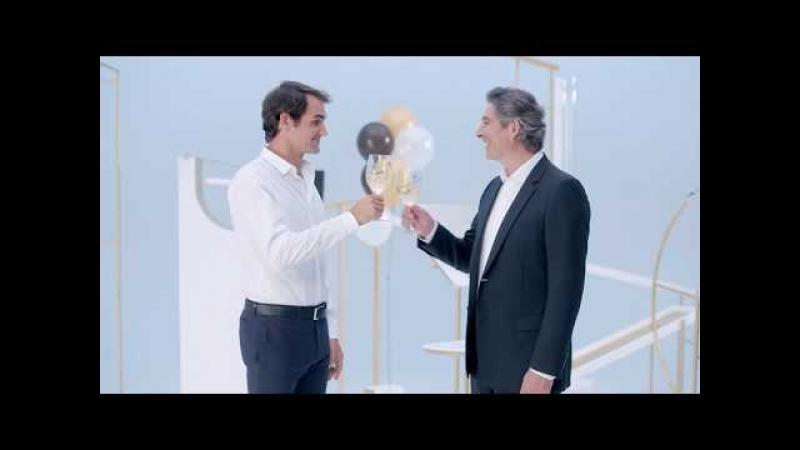 Новая реклама Moet Chandon с Роджером Федерером