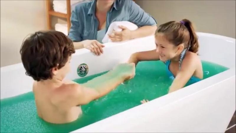 Zimpli Kids Slime Baff Single Use Bath Time Fun, Green Video