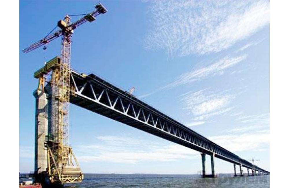 Для строителей крымского моста установят два избирательных участка