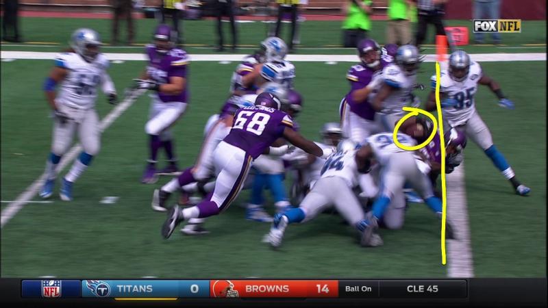 NFL 2015-2016 / Week 02 / 20.09.2015 / Detroit Lions - Minnesota Vikings / 1Н / EN