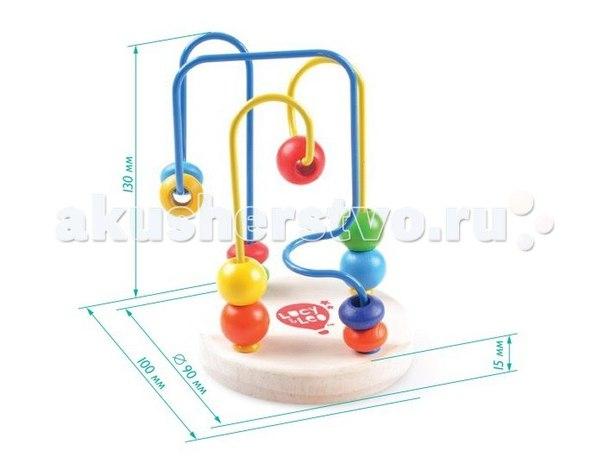 Деревянная игрушка Лабиринт 2, Lucy & Leo