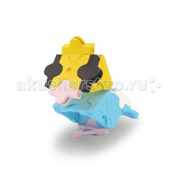 Конструктор Petite Parakeet Попугай (28 деталей), LaQ