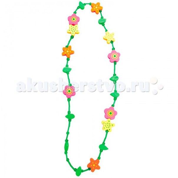 Бусы цветы 9989064, Bino