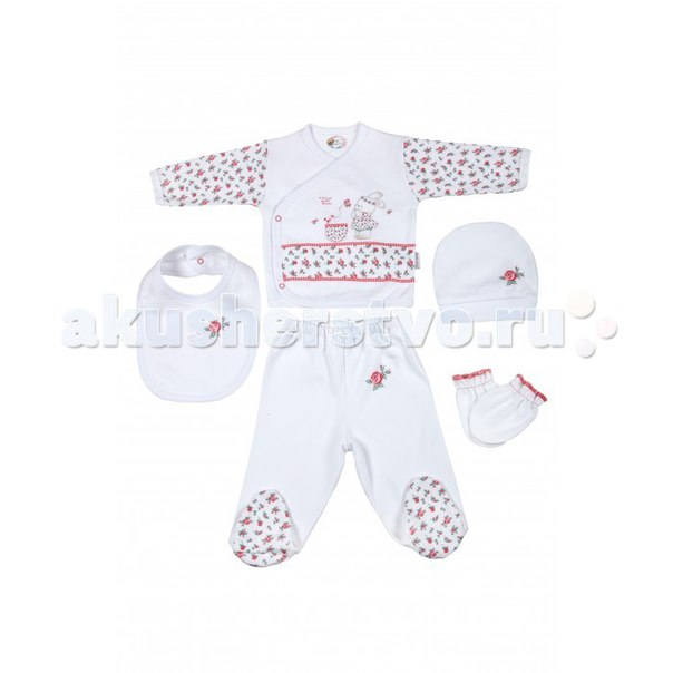 Подарочный набор для новорожденного (5 предметов) bbtf-806, Bebitof Baby