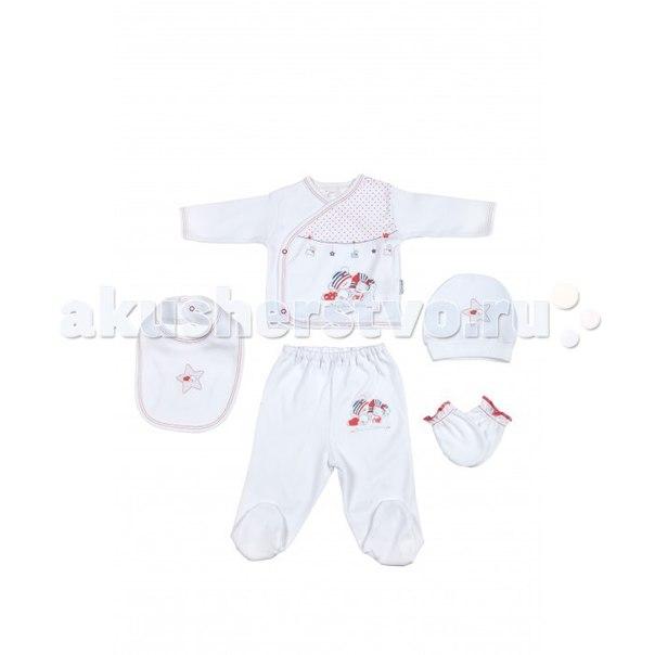 Подарочный набор для новорожденного (5 предметов) bbtf-796, Bebitof Baby