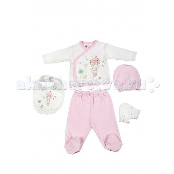 Подарочный набор для новорожденного (5 предметов) bbtf-790, Bebitof Baby