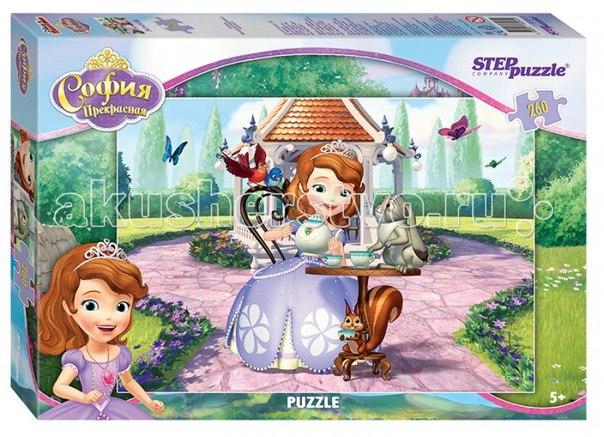 Пазл принцесса софия 260 элементов, Step Puzzle