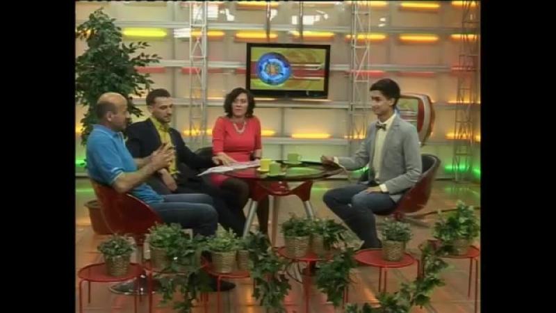 Муртаз Начкебия, Денис Метелев и Анна Цыкоза на канале НСК 49.