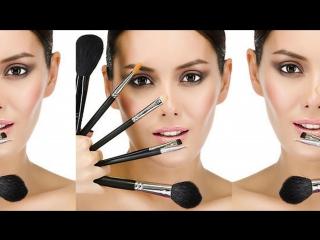 очищение кистей для макияжа