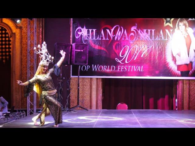 Анна Чепец, Anna Chepets, Egyptian Folklore, Ahlan Wa Sahlan-July 2017