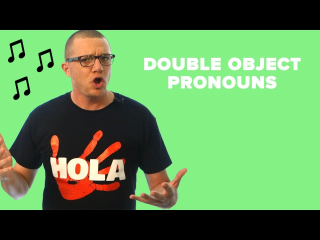 Double Object Pronouns in Spanish - Reflexive, Indirect, Direct (RID)