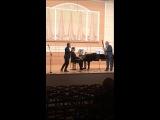 М.Глинка Патетическое трио для кларнета,фагота и ф-но.