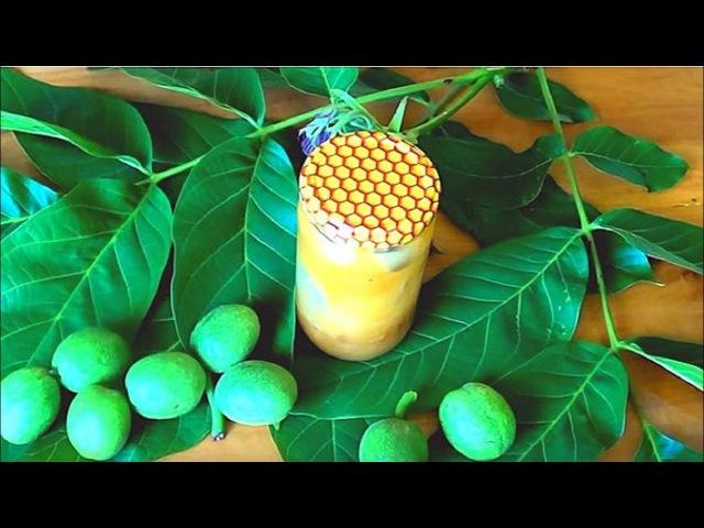 Супер - настойка. Зеленые орехимед. Не только щитовидка скажет спасибо.