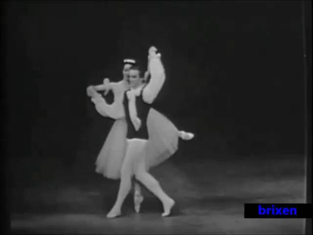 Les Sylphides PDD Maris Liepa Svetlana Adyrkhaeva
