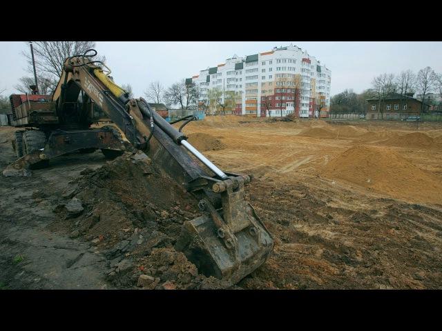 Гомельскія актывісты супраць будаўніцтва на габрэйскіх могілках | В Гомеле строят дом на костях Белсат
