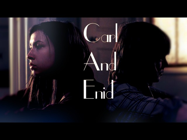 *Carl and Enid i hate u i love u *