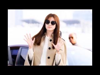 [S영상] 한효주, '완벽한 가을 여인' (인천국제공항)