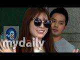 한효주(Han Hyo joo), 선글라스로 완성된 공항패션 화보가 따로 없네 [MD동영상]