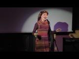 Выступление Евгении Иволги в День Рождения Дмитрия Максимова (45-летие) в кафе